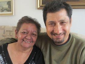 Irena Eliášová and her husband Zdeněk, photo: David Vaughan