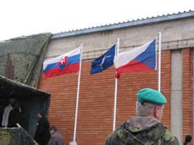 Czech-Slovak battalion at the KFOR peacekeeping mission in Kosovo