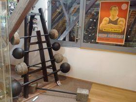 Frištenský's weights, photo: Petr Slinták / Czech Radio