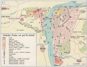 Прага во времена Карела IV, фото: Карлов университет