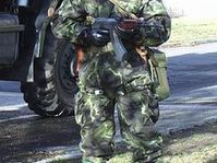 Soldier from anti-chemical unit, photo: www.army.cz