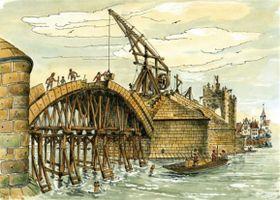 Строительство Карлова моста, Фото: открытый источник