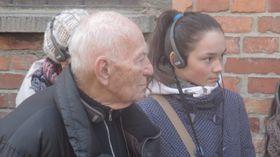 Лудек Элиаш, бывший узник Освенцима (Фото: Ася Чеканова)
