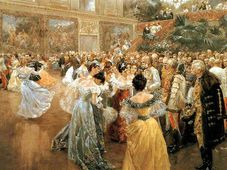 Court Ball at the Hofburg (1900) by Wilhelm Gause, photo: Public Domain