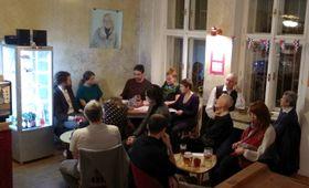 Le soirée franco-tchèque pour présenter au public pragois Stéphane Mallarmé et Tristan Corbière