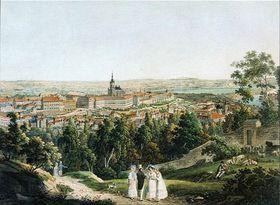 La vista de la colina de Petřín, foto: public domain