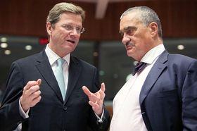 Guido Westerwelle und Karel Schwarzenberg (Foto: ČTK)