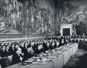 El Tratado de Roma, foto: cvce.eu, Wikipedia