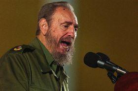 Fidel Castro, foto: CTK