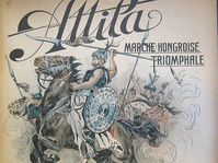 La marcha de Attila, foto: public domain