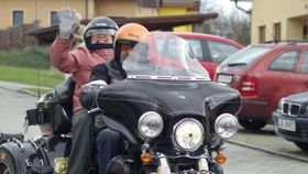 El deseo cumplido - un viaje en motocicleta, foto: Olga Štrejbalová, ČRo