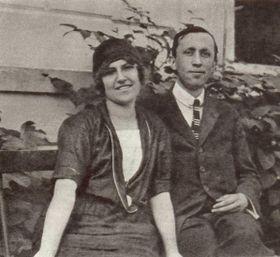 Ольга Шайнпфлюгова и Карел Чапек, фото: archiv Památníku Karla Čapka