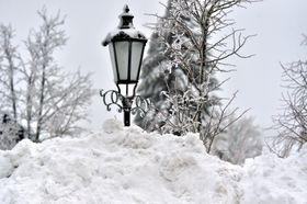 Schnee in Boží Dar (Foto: ČTK / Slavomír Kubeš)