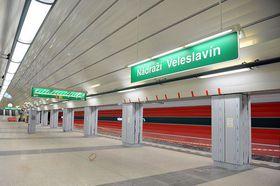 Nádraží Veleslavín, photo: Filip Jandourek, ČRo