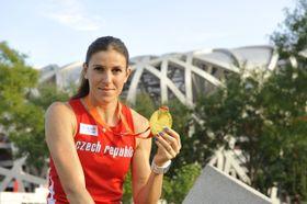 Zuzana Hejnová, photo: ČTK