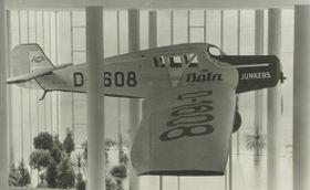 Modell von Batas Privatmaschine Junkers 13 (Foto: Archiv der Kreisgalerie der bildenden Kunst in Zlín)