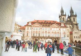 Open air skating rink in the Old Town Square, photo: CTK