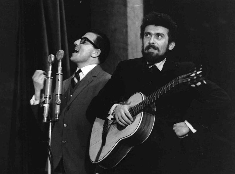 Waldemar Matuška (a la derecha), foto: Archivo de ČRo