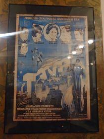 """Afiche de """"Tango"""" (1933), musical argentino con la actuación de Tita y otras mujeres del tango, foto: Ana Briceño"""
