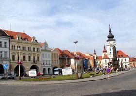Žatecké náměstí (Foto: Autorka)