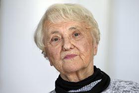 Zdena Mašínová, photo: ČTK/Michal Kamaryt