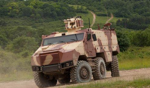 Un véhicule blindé Titus, photo: Site officiel de l'Armée tchèque