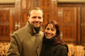 Petr and Adéla Mucha, photo: Martin Staněk