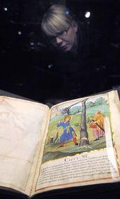'The Life and Suffering of Saint Wenceslas' manuscript, photo: CTK