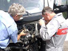 Техническое состояние грузовика было проверено (Фото: ЧТК)