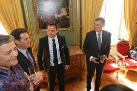 A. Babiš avec des membres du groupe ALDE, photo: site officiel du Gouvernement de la République tchèque