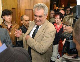 Milos Zeman, photo: CTK