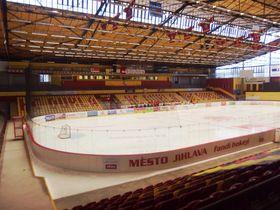 Le stade de Dukla Jihlava, photo: Palickap, CC BY-SA 4.0