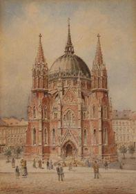 Ludwig Hofbauer: Wiener Pfarrkirche Maria vom Siege (Quelle: Wikimedia Commons, Public Domain)