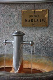 Heilquelle in Karlsbad (Foto: Barbora Kmentová)