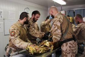 Чешские военнослужащие на миссии, архивное фото: официальный сайт Армии ЧР