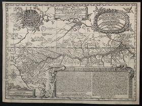 Landkarte des ganzen Amazonas (Foto: Public Domain)