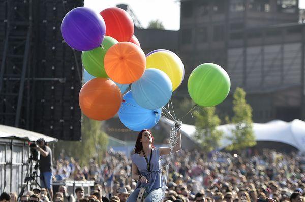 Le festival Colours of Ostrava, photo: Jaroslav Ožana/ČTK