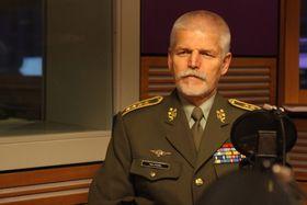 Petr Pavel, foto: Jana Přinosilová, ČRo