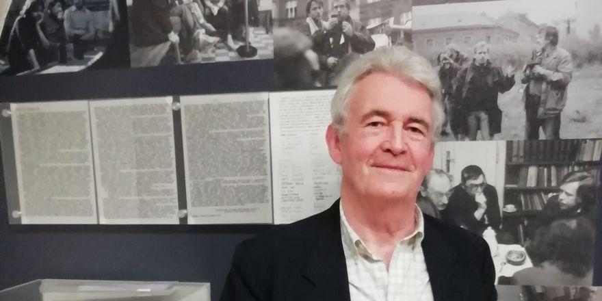 Simon Mawer, photo: David Vaughan
