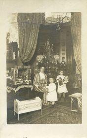 Vánoce vroce 1909, foto: archiv Muzea hl. m. Prahy