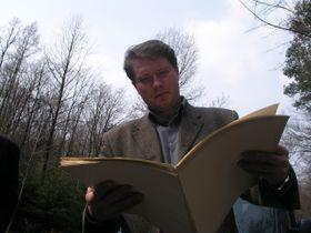 Petr Jordan - Chronist von Hrabyne (Foto: Stepan Cernousek)