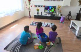 Kinder in einem SOS-Kinderdorf (Foto: Tschechisches Fernsehen)