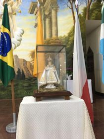 La réplica del Niño Jesús de Praga en Batayporã, foto: Romuald Štěpán Rob