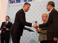 Томаш Петршичек, Елена Жемкова и Борис Беленкин, фото: Барбора Немцова