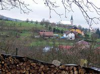 Pohled na nedašovský kostel, foto: Petr Slinták