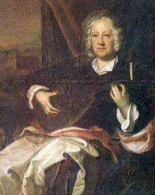 Jan Adam zQuestenberka sloutnou, Jan Kupecký, kolem r. 1720