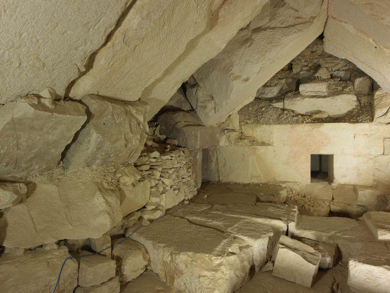 La tombe du roi Djedkarê, photo: Sandro Vannini / Institut tchèque d'égyptologie