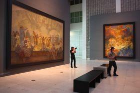 La obra a la que dedicaría 20 años de su vida Alfons Mucha, foto: Archivo de ČRo 7