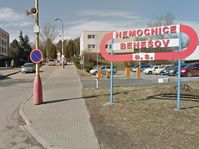 Benešov hospital, photo: Google Maps