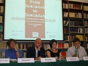 Panel proceedings, photo: Linda Mastalir